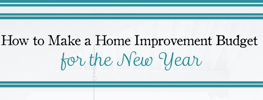 Home Improvement Budget Tips