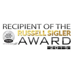 Carrier - Recipient of the Russell Sigler Award 2015