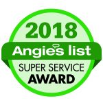 "McLay Services, Inc. Earns Esteemed 2018 ""Angie's List Super Service Award"""